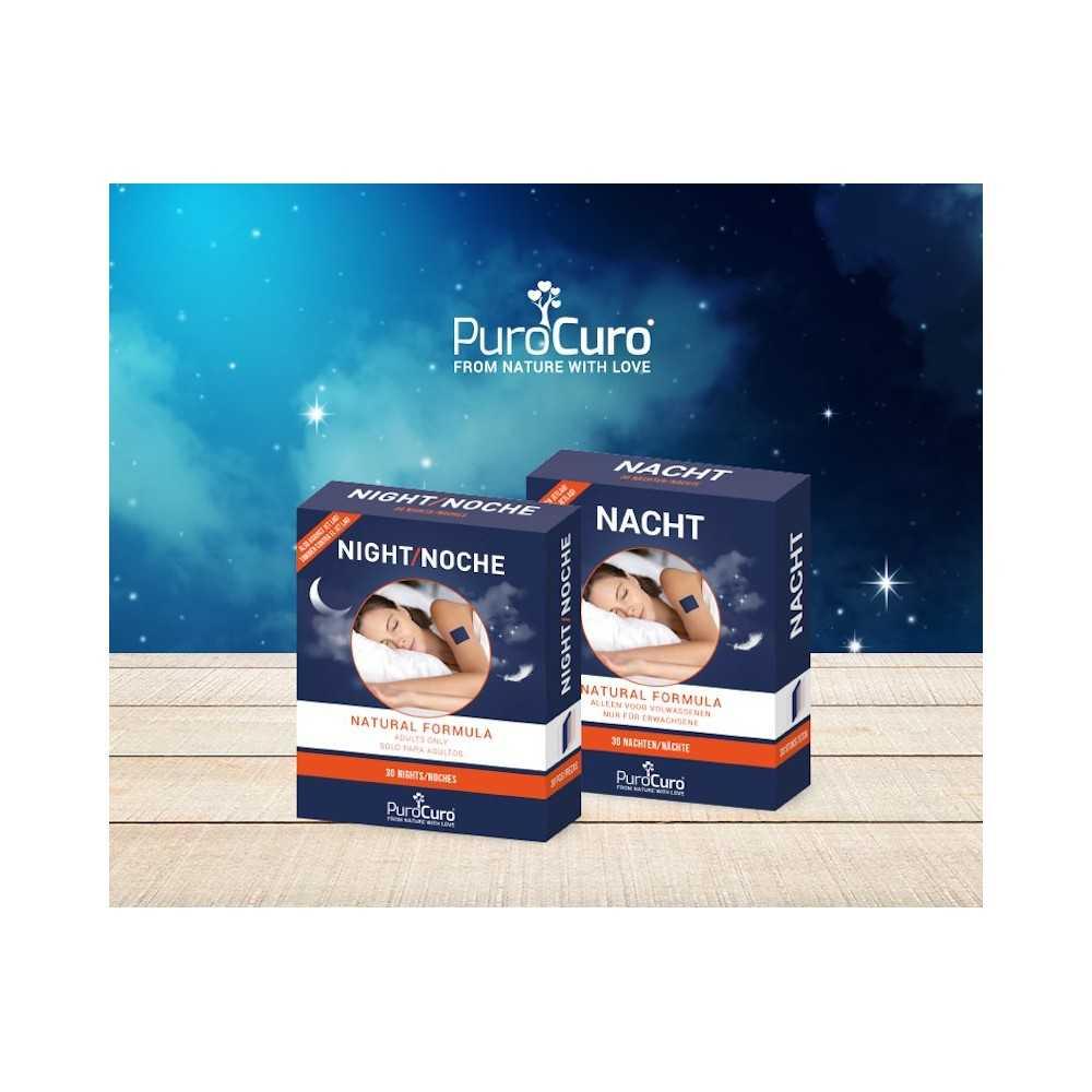 PuroCuro Schlafpflaster - 100% natürlich