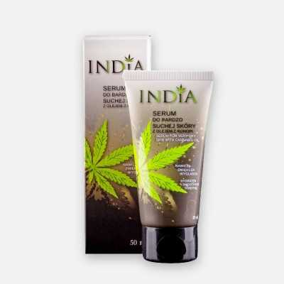 Serum für sehr trockene Haut mit Hanföl von India Cosmetics