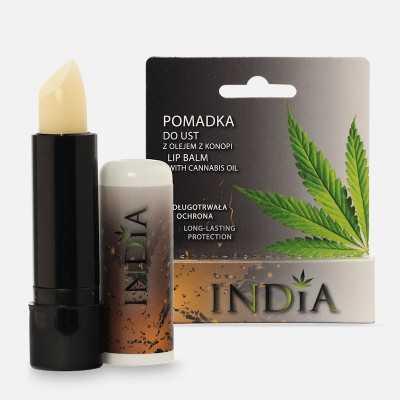 Lippenpflegestift mit Hanföl von India Cosmetics