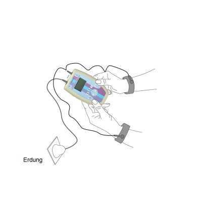 Doppel - Kabel für Diamond Shield Zapper