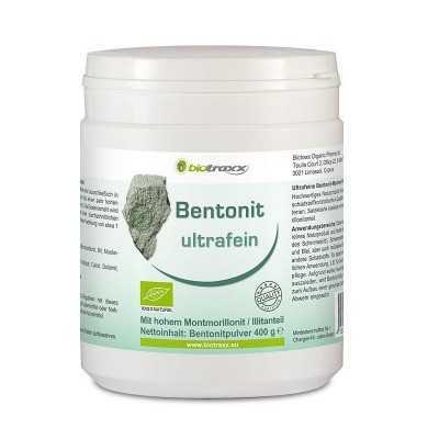 Bentonit ultrafeine Mineralerde 400g
