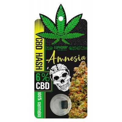 CBD Hash 6% Amnesia
