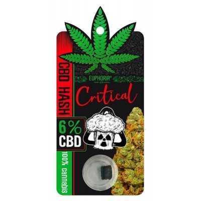CBD Hash 6% Critical