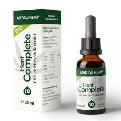 Hanf Complete CBD Öl 10% 30ml