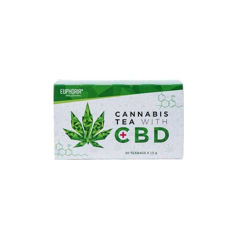 Euphoria Cannabis Tee mit CBD