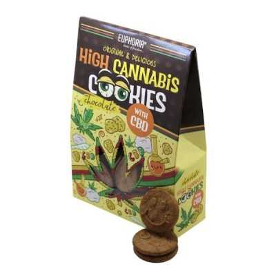 High Cannabis Cookies mit CBD