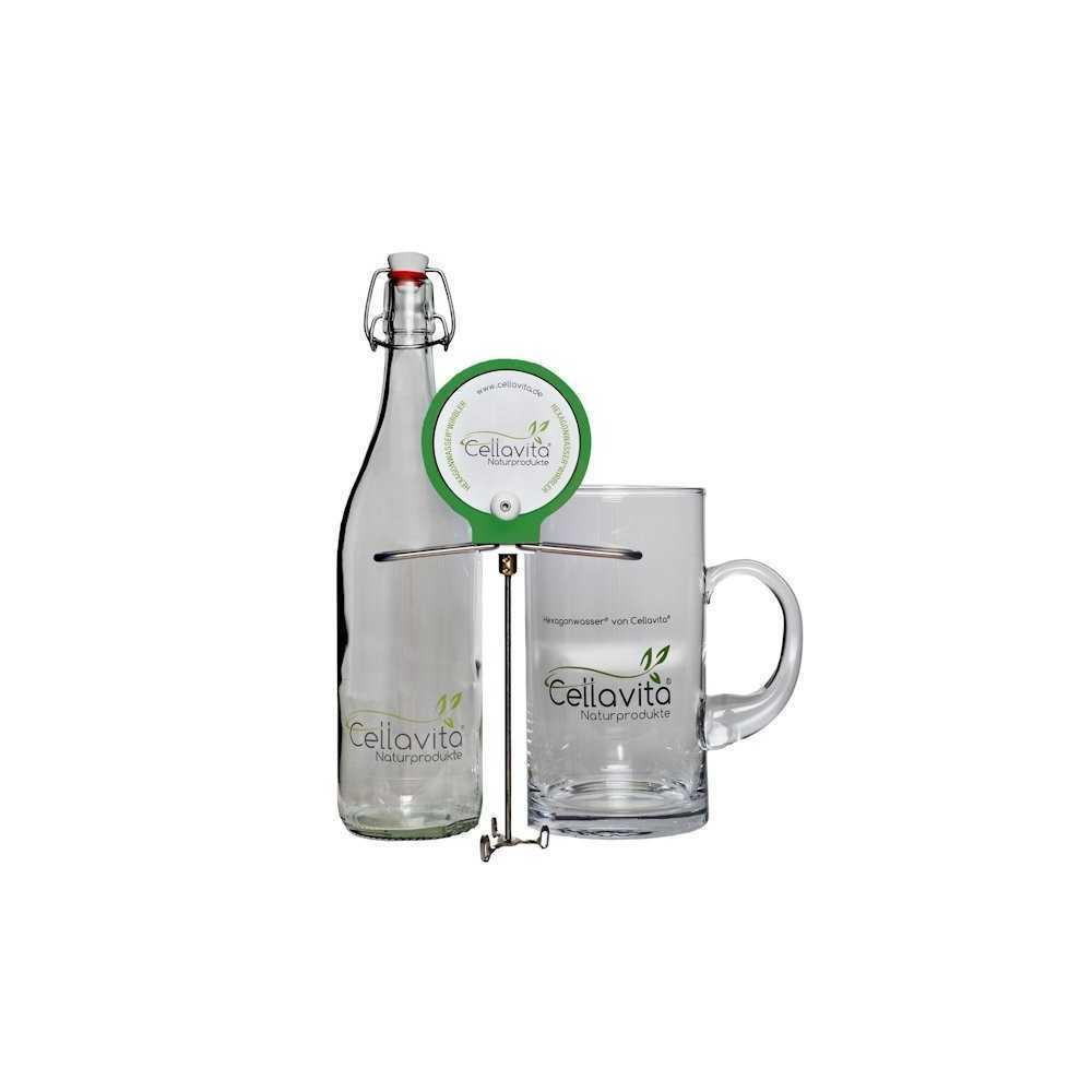 Hexagonwasser®-Wirbler Set