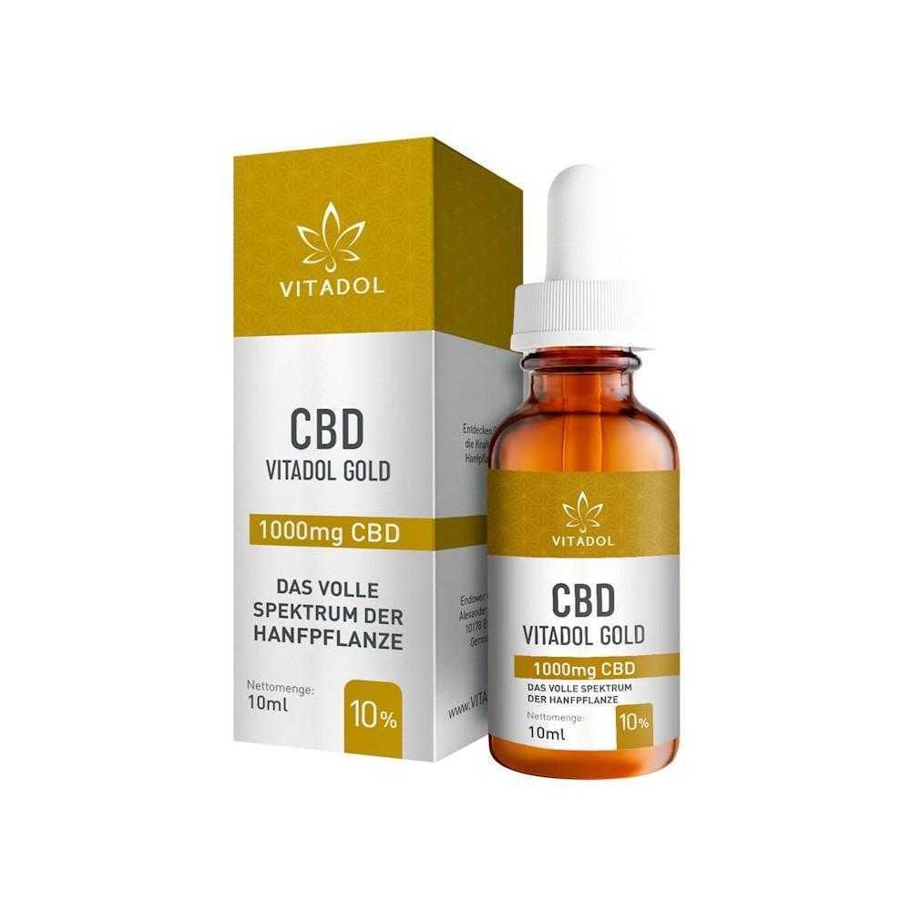Vidadol Gold CBD Öl 10%