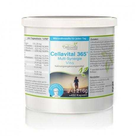 Cellavital 365 - 5-Monatsvorrat - 450 Kapseln