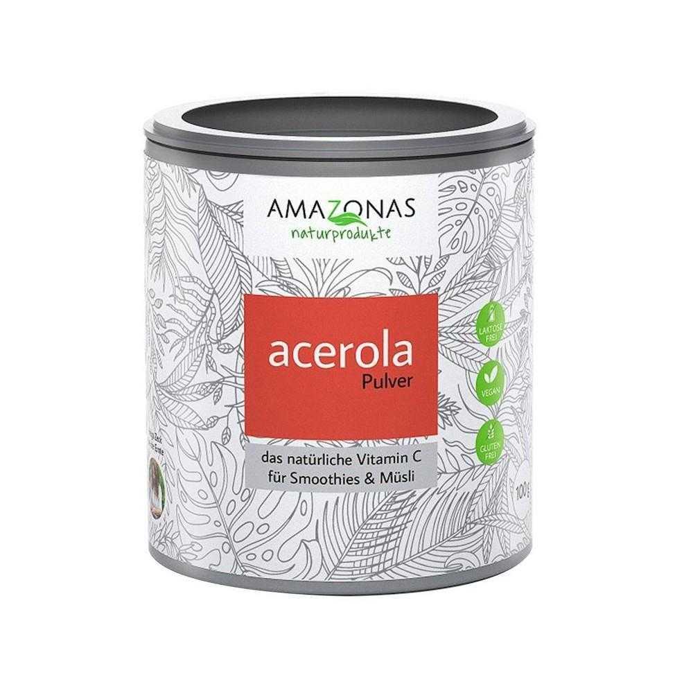 Acerola Vitamin C Pulver, 500g