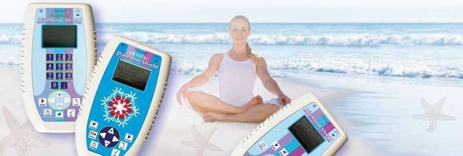 Diamond Shield Zapper für Entspannung und Wohlbefinden