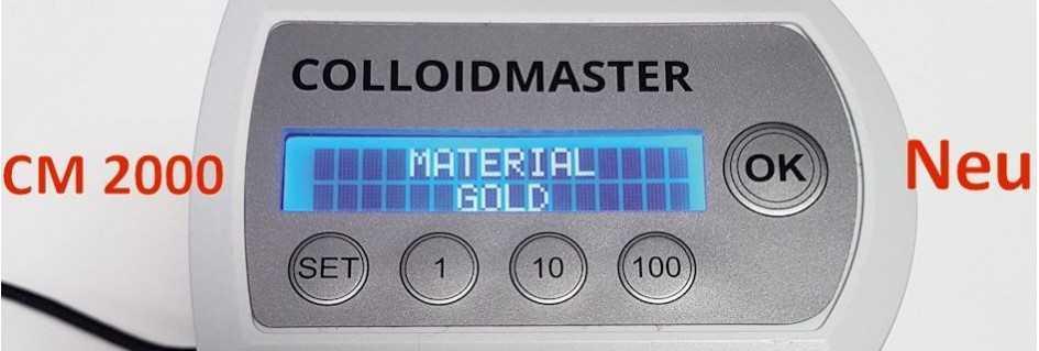 Colloidmaster CM1000S/2000 die vollautomatischen Profi-Generatoren