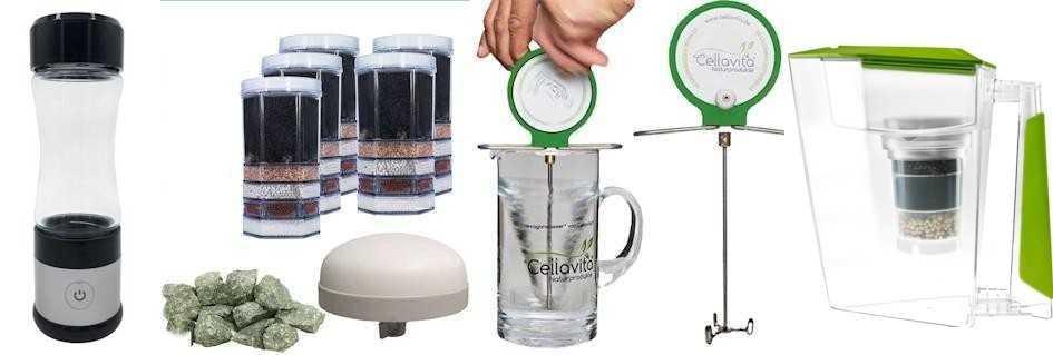 Naturnahe Wasserfilter mit Acala Quell Mini und Acala Quell Swing